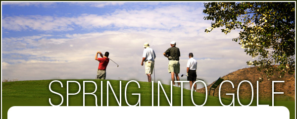 Spring Into Golf